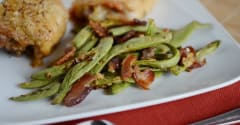 Garlic and Bacon Green Beans - Ready to Eat
