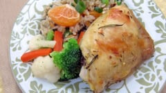 Instant Pot Citrus Herb Chicken - Ready to Eat Dinner