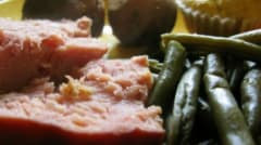 Instant Pot Ham and Green Beans - Lunch