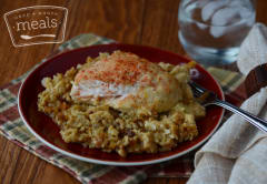 Chicken and Rice Pilaf - Dump and Go Dinner