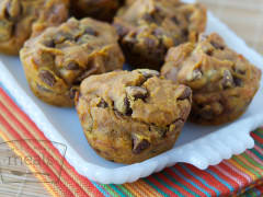 Gluten Free Dairy Free Pumpkin Chocolate Chip Muffins