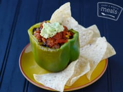 Gluten Free Dairy Free Mexican Stuffed Peppers