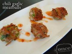 Chili Garlic Meatballs - Dump and Go Dinner
