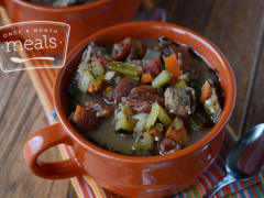 Slow Cooker Italian Beef Stew - Dump and Go Dinner
