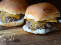 Bacon Cheeseburger Sliders - Dump and Go Dinner