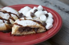Smores in a Sleeping Bag