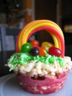 Rice Krispies Easter Baskets