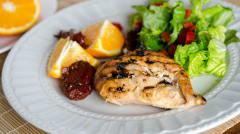 Instant Pot Orange Adobo Chicken - Lunch