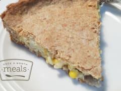 Sweet Corn Pot Pie - Dump and Go Dinner