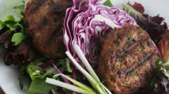Paleo Asian Turkey Burgers - Dump and Go Dinner