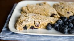 Blueberry Quinoa Scones
