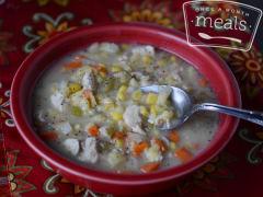 Gluten Free Chicken Noodle Soup - Toddler Version