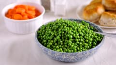 Simple Side:  Peas