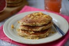Sunrise Grapefruit Pancakes
