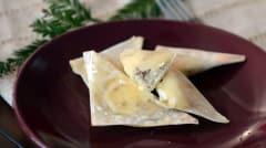 Bacon Cream Cheese Wontons