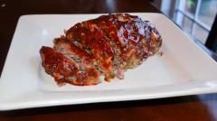 Instant Pot Brown Sugar Glazed Meatloaf - Dump and Go Dinner