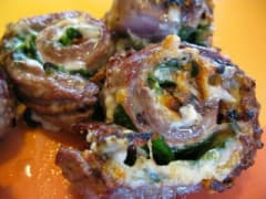 Italian Flank Steak Pinwheels - Dump and Go Dinner