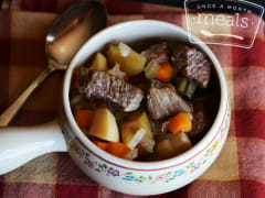 Apple Cider Beef Stew - Ready to Eat Dinner