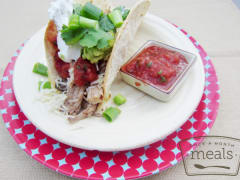 Slow Cooker Pork Tacos - Ready to Eat Dinner