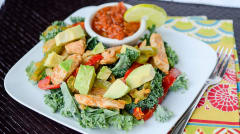 Fajita Salad - Lunch Version