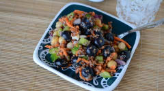 Simple Summer Porch Salad - Lunch Version