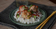 OAMM Asian Turkey Meatballs - Dump and Go Dinner