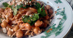 Thai Chickpea Pasta - Dump and Go Dinner