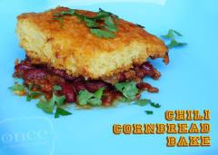 Chili Cornbread Bake