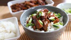 Slow Cooker Honey Bourbon Chicken - Gluten Free Dairy Free - Dump and Go Dinner