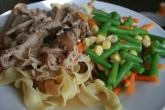 Dijon Pork Loin Roast - Dump and Go Dinner