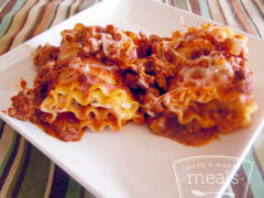 Classic Lasagna Rolls