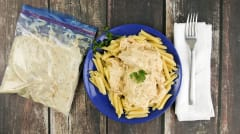 """Light"" Cream Cheese Chicken - Dump and Go Dinner"
