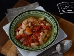 Slow Cooker White Bean Chicken Chili - Ready to Eat Dinner