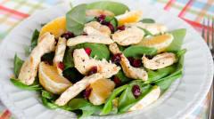 Citrus Chicken Salad Strips- Lunch Version