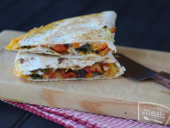 Farmer's Market Quesadilla - Lunch Version