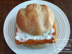Crispy Buffalo Tofu Sandwich - Ready to Eat Dinner