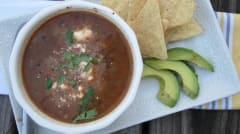 Instant Pot Simple Black Bean Soup - Dump and Go Dinner
