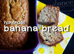 Classic Homemade Yogurt Banana Bread