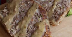 Maple Glazed Meatloaf - Lunch Version