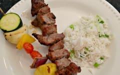 Asian Steak Kebabs - Gluten Free Dairy Free Dump and Go Dinner
