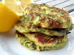 Garden Zucchini Cakes - Lunch Version