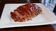 Instant Pot Brown Sugar Glazed Meatloaf - Lunch