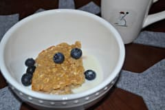 Peanut Butter Baked Oatmeal