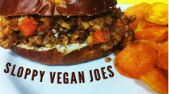 Instant Pot Sloppy Vegan Joes