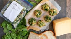 Parmesan Spinach Balls - Dump and Go Dinner