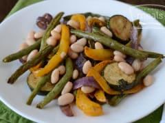 Balsamic Grilled Veggies - Dump and Go Dinner