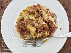 Slow Cooker French Toast Casserole - Ready to Eat