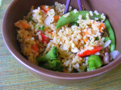 Fried Rice-Gluten Free Dairy Free Version - Lunch Version