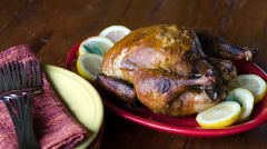 Juicy Roast Chicken - Dump and Go Dinner