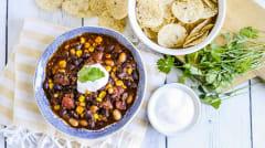 Instant Pot Chorizo Chili - Lunch